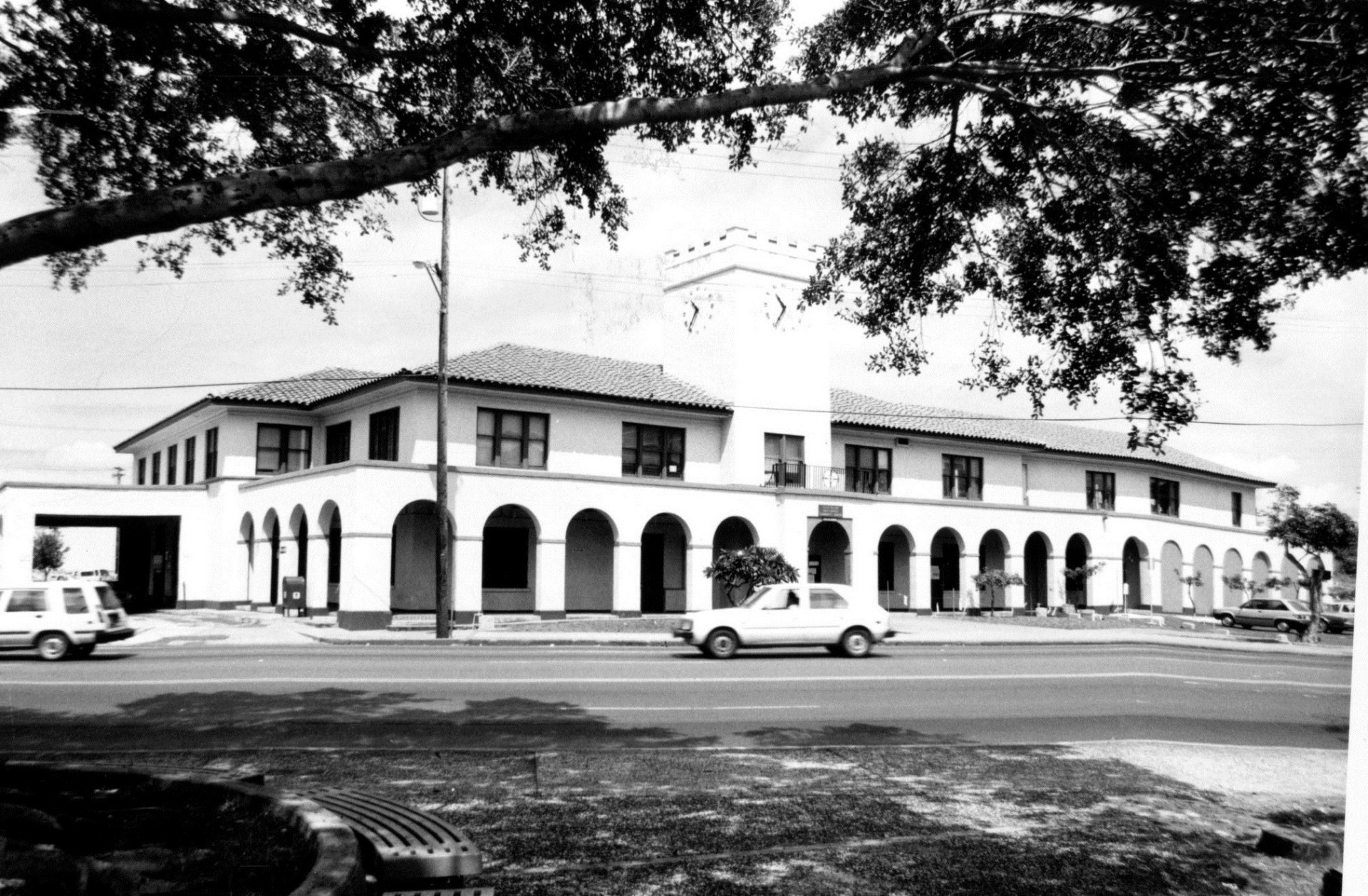 Oahu Railway & Land Co. Depot & Document Storage Building