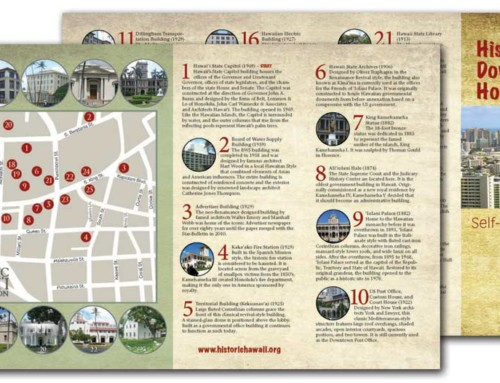Historic Downtown Honolulu Map Available for Self-Guided Tours