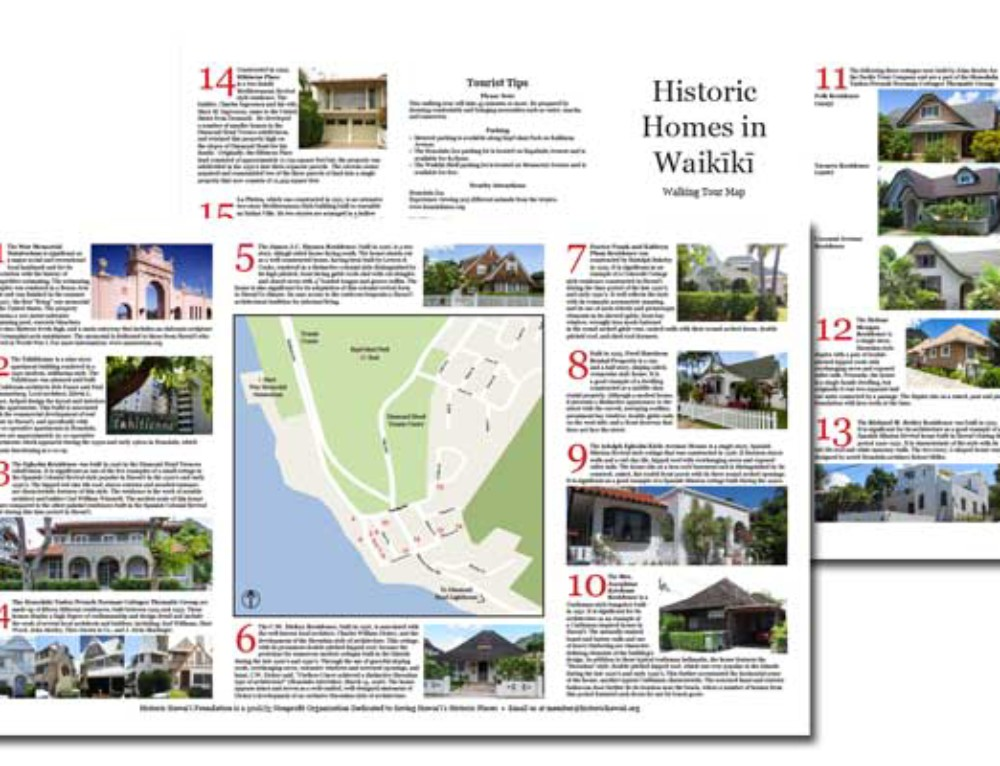 Historic Downtown Honolulu Map Available for SelfGuided Tours