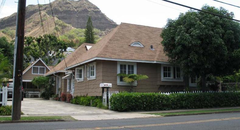 3040 Diamond Head Road Helene Morgan Residence Historic