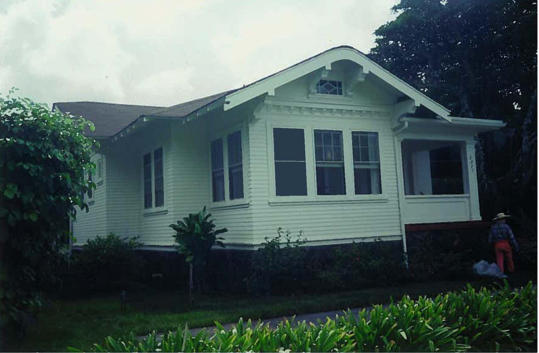 2371 Oahu Avenue/ Lyle House – Historic Hawaii Foundation