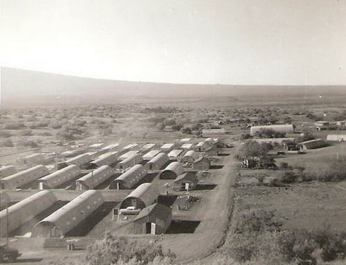 Pohakuloa Training Area Quonset Huts  (2015)