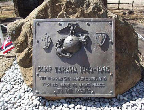 Camp Tarawa Then and Now