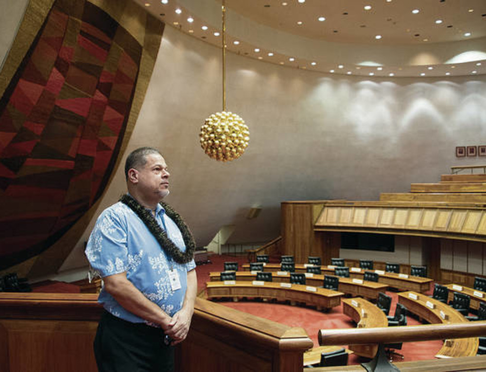 State Capitol Awash with Meaning
